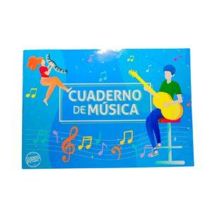 Cuaderno de música pentagramado distribuidores de papeleria al por mayor
