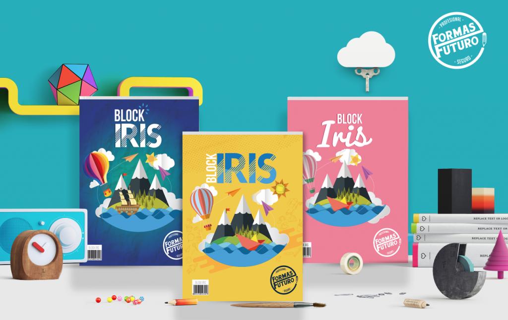 Block iris colores primarios distribuidores de papelería al por mayor