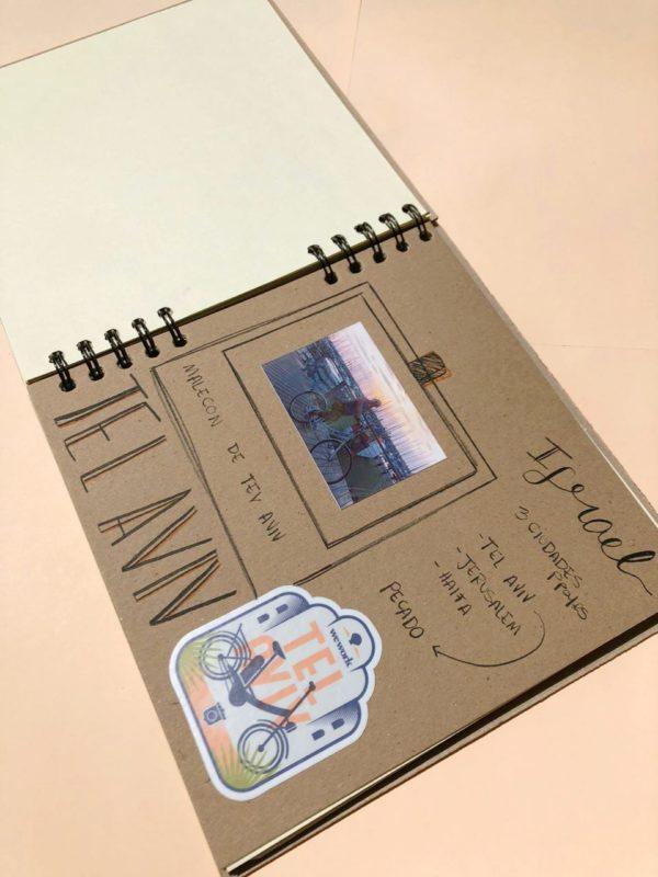 Kit scrapbook álbum artesanal